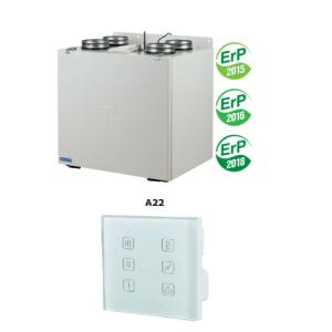 Rekuperácia VUT 350 VB EC A22-450 m³ / h