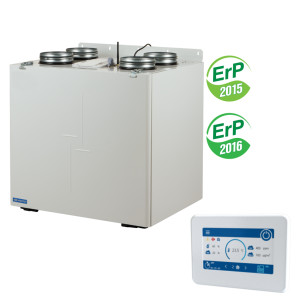 Rekuperácia VUT 550 VB EC A25- 750 m³ / h