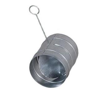 Klapka 100 mm pozink s pevným tiahlom