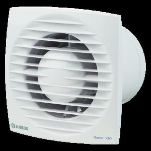 Ventilátor typ Blauberg BRAVO STILL100 -zapínanie a vypínanie vypínačom na svetlo-možnosť použitia do stropu