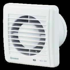 Ventilátory domové kúpelňové typová rada Blauberg AERO