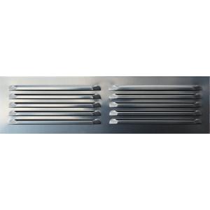 Hliníková mriežka OPZ 500x140