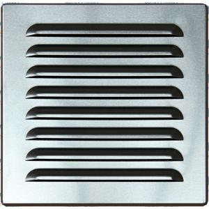 Hliníková mriežka OPZ 165x165