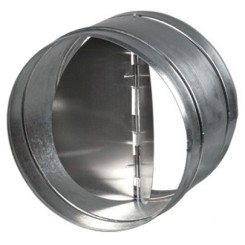 Spätné klapky kovové bez tesnenia