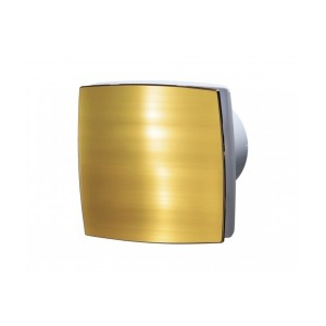 Ventilátor Vents 100LDATHL zlatá+guličkové ložisko+časový dobeh+parový senzor-možnosť použitia do stropu