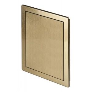 Plastové revízne dvierka AD 150x150 Brúsený zlatý