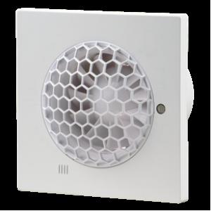 Ventilátor do kúpeľne 100 QUIET-S-zapínanie a vypínanie vypínačom na svetlo-možnosť použitia do stropu+spätná klapka membránová