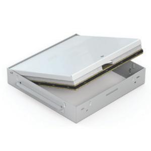 RFP 300x300 KL celoplechová biela zatváranie štvorhran EI45minut