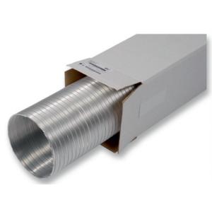 Hliníkové flexibilné potrubie SEMIFLEX 82mm/3m
