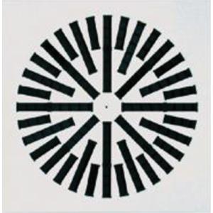 VWR-3VX -300/8 - Stropná oceľová mriežka s nastaviteľnými plastovými lamelami