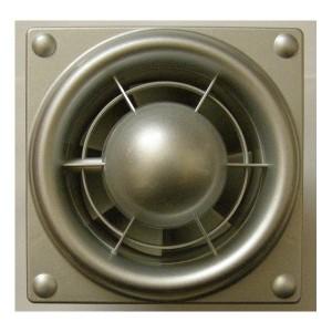 Ventilátor Vents 100S Colibri SILVER+základ-zapínanie a vypínanie vypínačom na svetlo