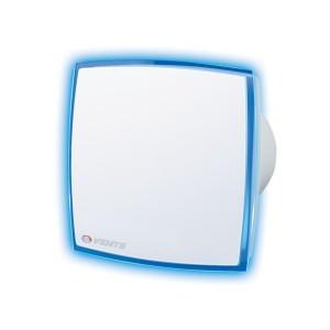 Ventilátor Vents 100 LD Light Blue-modré Led podsvietenie-zapínanie a vypínanie vypínačom na svetlo