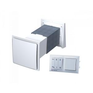 Rekuperácia vzduchu do jednej miestnosti VENTS TwinFresh SA 60-- priemer potrubia 171x171mm dvojrýchlostný  35-58m3/h