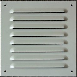 Hliníkové mriežky biele typ MVM
