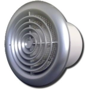 Ventilátor Vents 125PFchrom-zapínanie a vypínanie vypínačom na svetlo