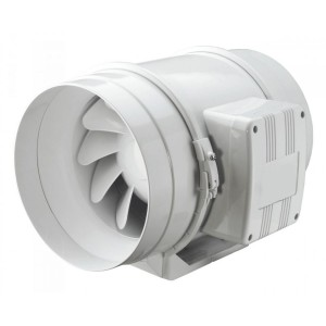 Potrubný priemyselný axiálny ventilátor VENTS TT 125