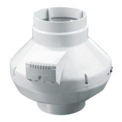Poloradiálne ventilátory s plastovým puzdrom