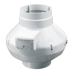 Radiálny ventilátor VENTS VK 125 priemer napojenia 125mm- výkon:355m3/h napätie 230V