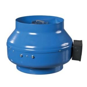 Priemyselný potrubný ventilátor VENTS VKM 250-priemer napojenia 248mm výkon:1310m3/h napätie 230V