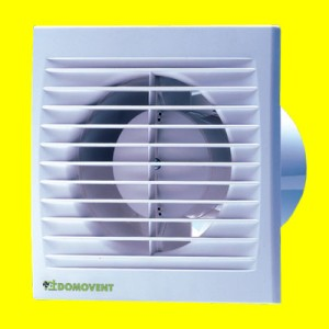Ventilátory domové Domovent 100 ST+časový dobeh