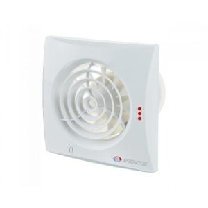 Ventilátor Vents 100TH QUIET-časový dobeh-parový senzor-guličkové ložisko-možnosť použitia do stropu+spätná klapka membránová