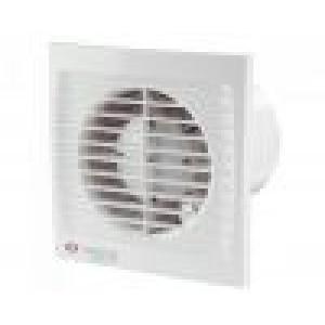 Ventilátor Vents 150STLsilenta-časový dobeh-guličkové ložisko-možnosť umiestnenia do stropu
