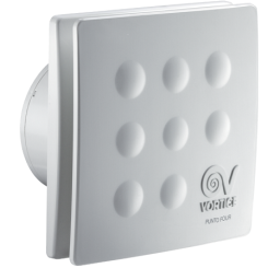 Dekoratívne ventilátory Vortice Punto Four-90mm-100mm-120mm