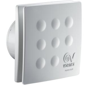 Ventilátor VORTICE Punto Four MFO90/3.5 bez časového dobehu priemeru 92,4mm výkon 65m3/h-spätná klapka membránová