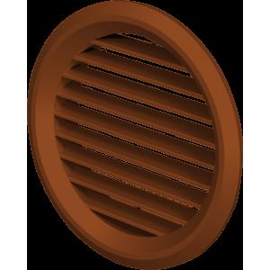 Mriežka plastová MV50/2BVS Mahagon-so sieťkou proti hmyzu 2kusy v balení