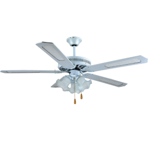 Stropný ventilátor s osvetlením SHD52-4C3LW-biela rozpätie 132cm