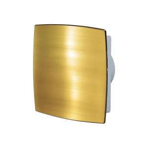 Ventilátor Vents 100LD AUTO pozlátená s automatickou žaluziou-zapínanie a vypínanie vypínačom na svetlo