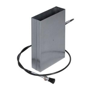 Kanál klapka s bovdenom na potrubie 150x50mm