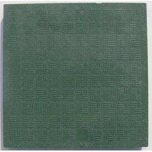 Plastový poklop k revíznej šachte 300x300 mm zelený-váha-1,5kg-nosnosť-1,5Tony