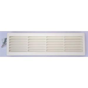 Mriežka do dverí MV460x135 biela-bez sieťky proti hmyzu-obojstranná